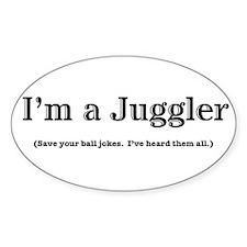 Im a Juggler Bumper Stickers
