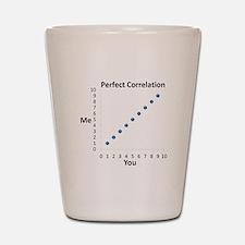Perfect Correlation Shot Glass