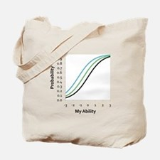 Logistic Curves Tote Bag