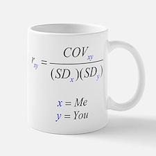 Correlation Formula Mug