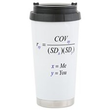 Correlation Formula Travel Mug