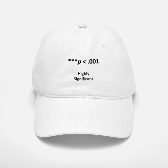 Highly Significant Baseball Baseball Cap