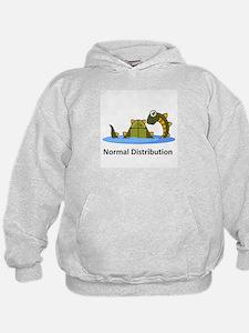 Normal Distribution Hoodie