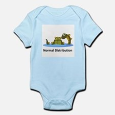 Normal Distribution Infant Bodysuit
