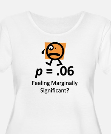 Feeling Marginally Significant? T-Shirt