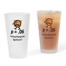 Feeling Marginally Significant? Drinking Glass