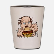 Hungry Sweaty Baby Shot Glass