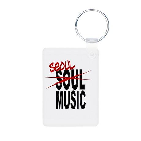 Seoul Music (K-pop) Aluminum Photo Keychain