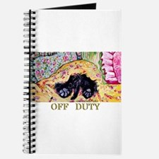 Off Duty Scottish Terrier Journal