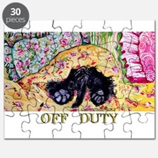Off Duty Scottish Terrier Puzzle