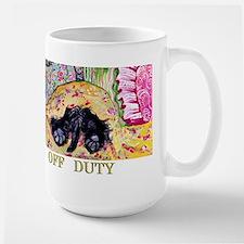 Off Duty Scottish Terrier Mug