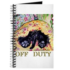 Scottish Terrier Off Duty Journal