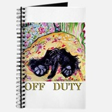 Scottish Terrier Off Duty Journal