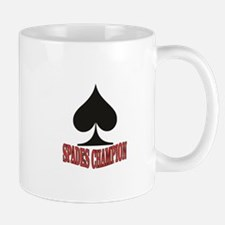 red spades champion Mugs