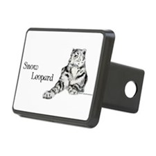 Snow Leopard Hitch Cover