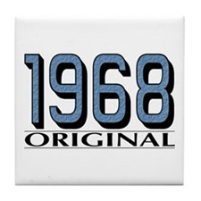 1968 Original Tile Coaster