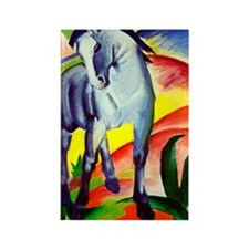 Franz Marc Rectangle Magnet