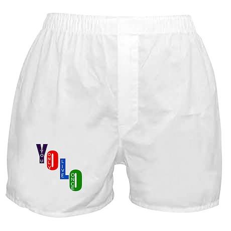 YOLO Boxer Shorts