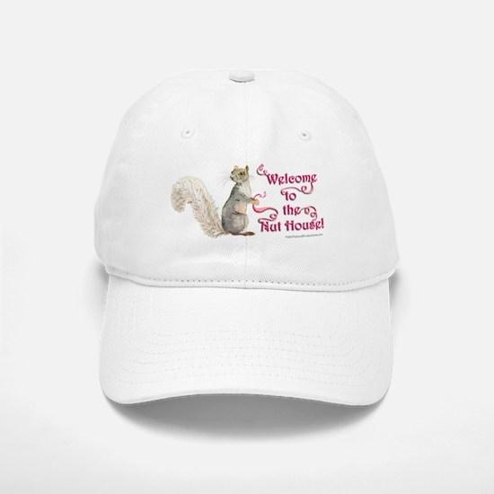 Squirrel Nut House Baseball Baseball Cap