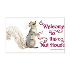 Squirrel Nut House Wall Decal