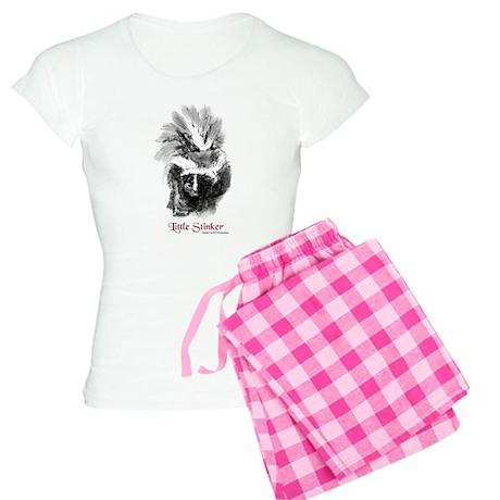 "Skunk ""Little Stinker"" Women's Light Pajamas"