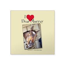 I Heart Dear Murray Square Sticker