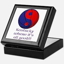 Kentucky Basketball Keepsake Box