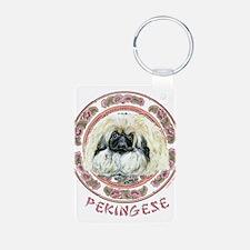 Pekingese Pup Keychains