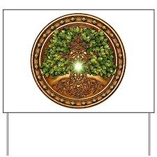 Sacred Celtic Trees - Oak Yard Sign
