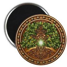 Sacred Celtic Trees - Oak Magnet