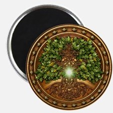Sacred Celtic Trees - Oak Magnet