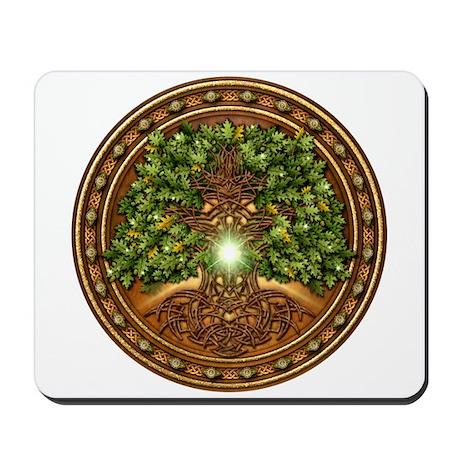Sacred Celtic Trees - Oak Mousepad