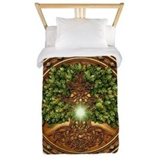 Sacred Celtic Trees - Oak Twin Duvet