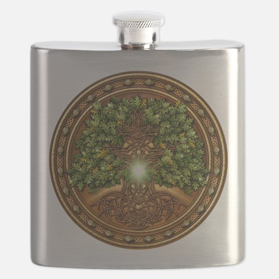 Sacred Celtic Trees - Oak Flask