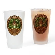 Sacred Celtic Trees - Oak Drinking Glass