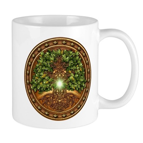 Sacred Celtic Trees - Oak Mug