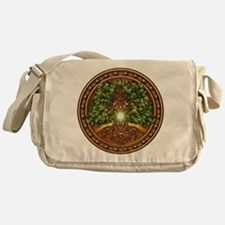 Sacred Celtic Trees - Oak Messenger Bag