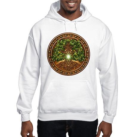 Sacred Celtic Trees - Oak Hooded Sweatshirt