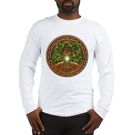 Sacred Celtic Trees - Oak Long Sleeve T-Shirt