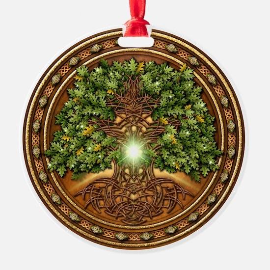 Sacred Celtic Trees - Oak Ornament