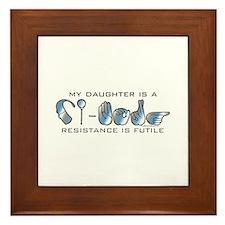 CI-Borg Resistance Daughter Framed Tile