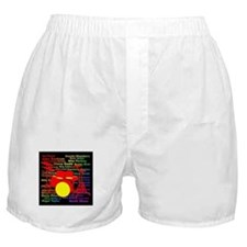 drum and drummer Boxer Shorts