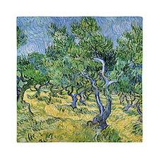 Van Gogh Olive Grove Queen Duvet