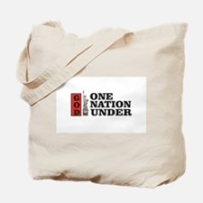 one nation under god liberty Tote Bag