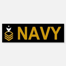 Senior Chief Petty Officer<BR> Bumper Sticker 1