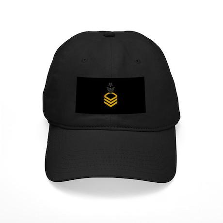 Senior Chief Petty Officer<BR> Black Cap