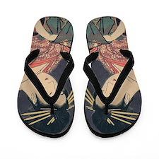 Utamaro - Courtesan Flip Flops
