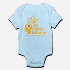 The Atheist Initiative with Red Button Infant Body