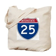 I-25 Highway Tote Bag