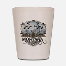 Montana wildlife Shot Glass